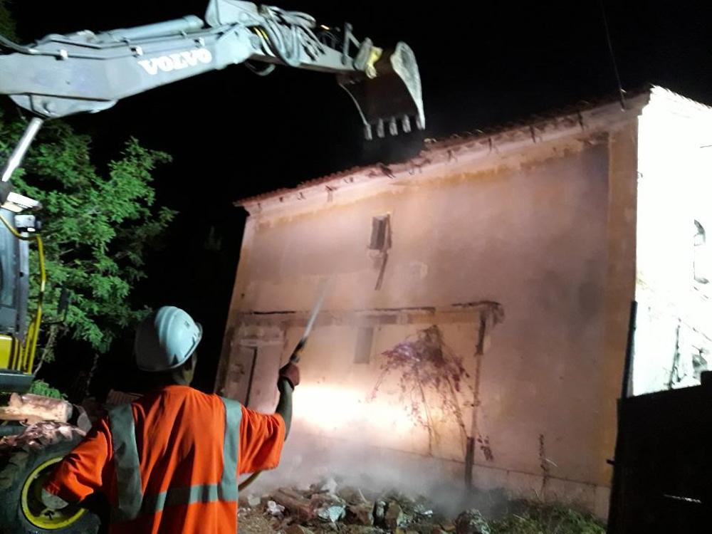 demolition la ciotat SNCF