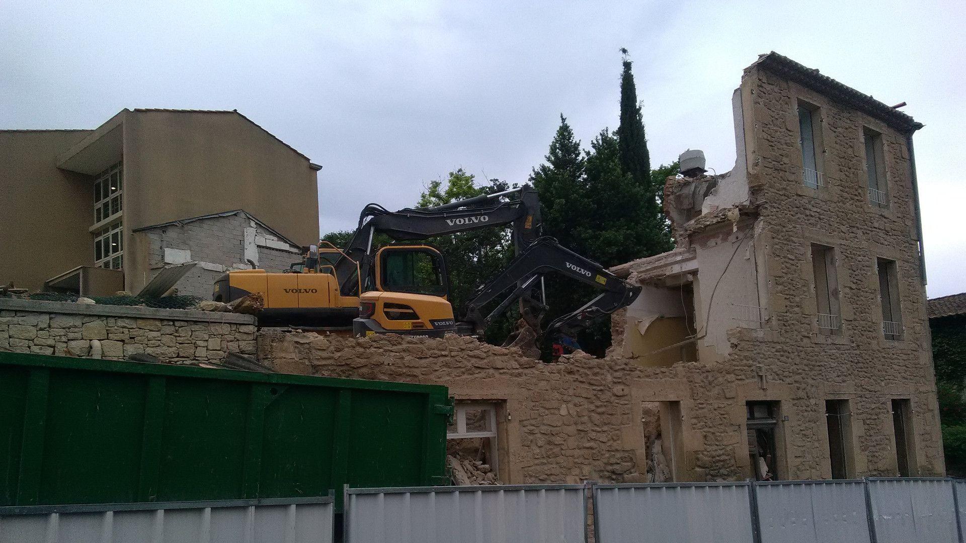 Entreprise de démolition Marseille