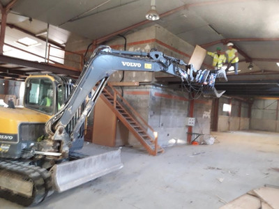 demolition decoupe charpente marseille